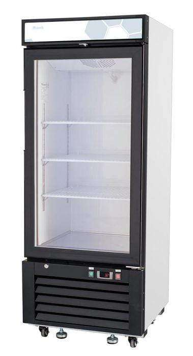 Migali - C-10RM-HC 10 cu/ft Glass Door Merchandiser Refrigerator
