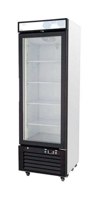 Migali - C-12RM-HC 12 cu/ft Glass Door Merchandiser Refrigerator