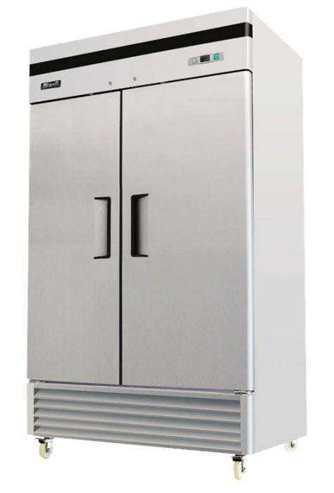 Migali - C-2FB-35-HC 2 Door Reach-In Freezer