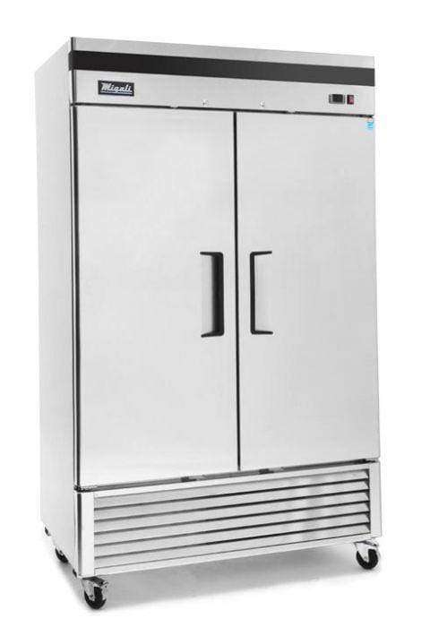 Migali - C-2FB-HC 2 Door Reach-In Freezer