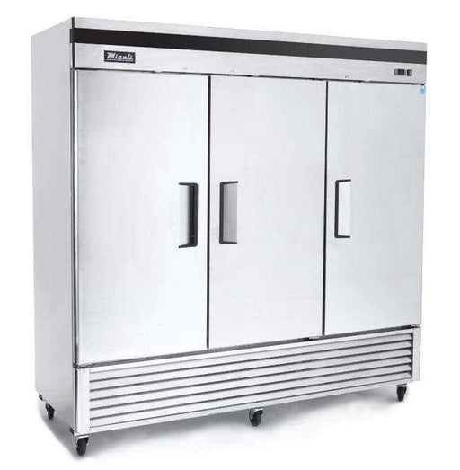 Migali - C-3FB 3 Door Reach-In Freezer