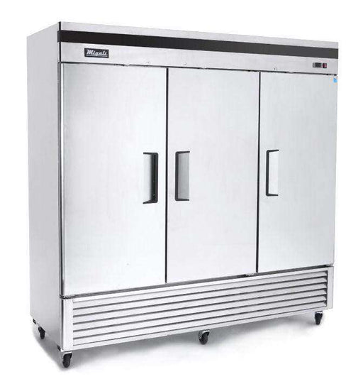 Migali - C-3RB-HC 3 Door Reach-In Refrigerator