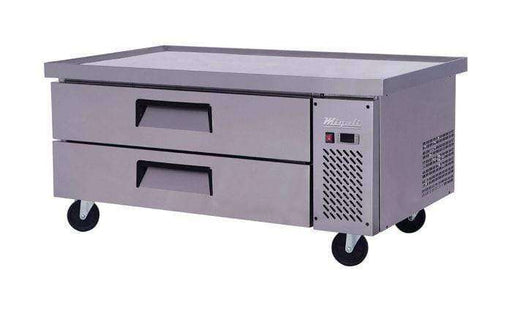 Migali - C-CB52-60-HC 52″ Wide Refrigerated Chef Base with 60″ extended top