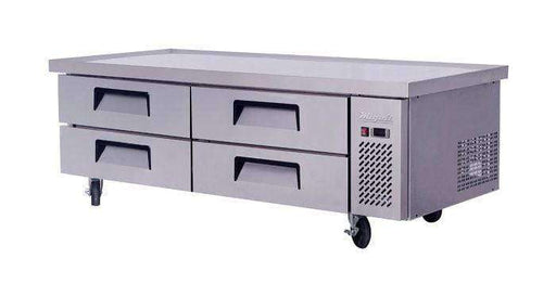 Migali - C-CB72-76-HC 72″ Wide Refrigerated Chef Base with 76″ extended top