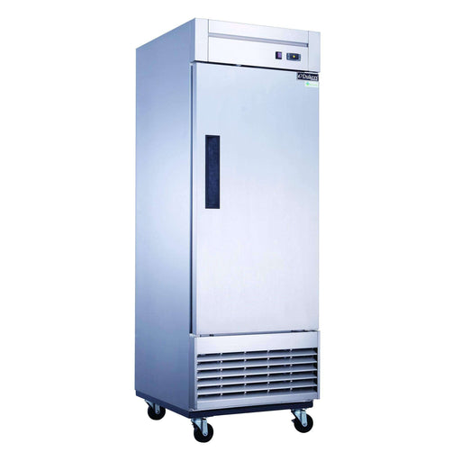 Dukers - D28R Single Door Commercial Refrigerator in Stainless Steel