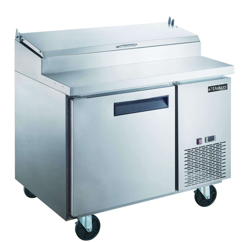 Dukers - DPP44-6-S1 Commercial Single Door Pizza Prep Table Refrigerator