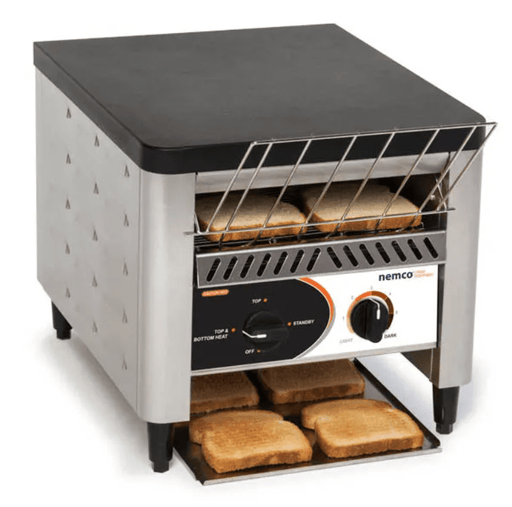 "Nemco 6800 Conveyor Toaster - 300 Slices/hr w/ 2"" Product Opening, 120v"