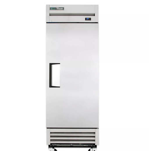 "True T-19-HC 27"" One Section Reach In Refrigerator, (1) Right Hinge Solid Door, 115v"
