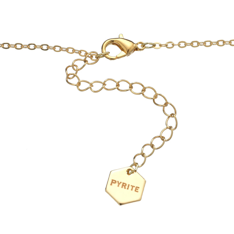 World Bracelet Gold - Pyrite Jewelry - [product_type]