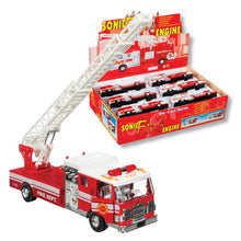 Load image into Gallery viewer, Diecast Fire Engine