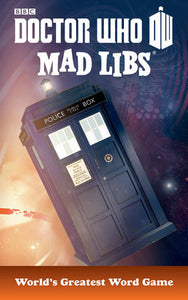 Dr Who Mad Libs