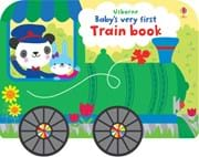 Babys Very First Train Book