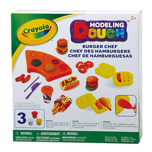 Cray Dough Burger Chef Playset