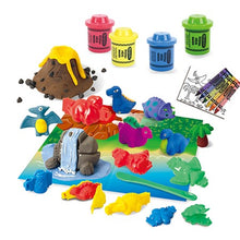 Load image into Gallery viewer, Modeling Dough Dino Island Playset