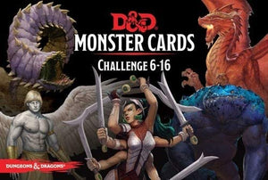 D&D Spell Cards Monster 6-16