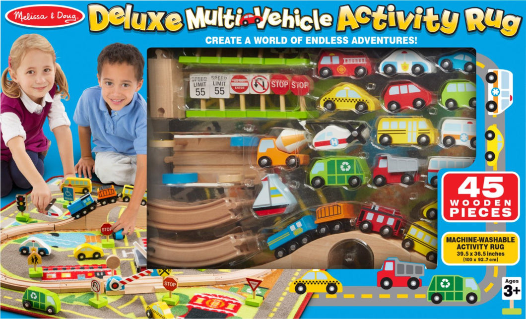 Deluxe Multi Vehicle Activity Rug