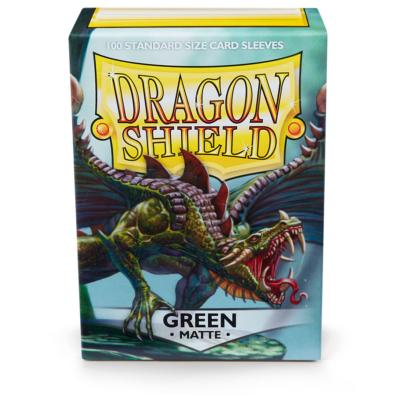 Dragon Shield Green Matte