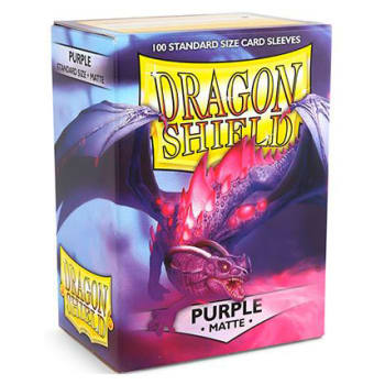 Dragon Shield Purple Matte