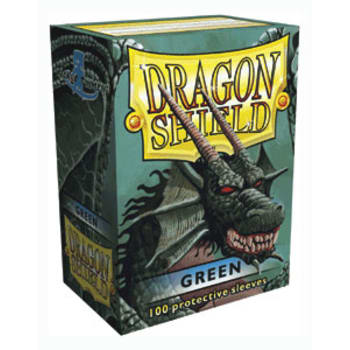 Dragon Shield Sleeve Green 100