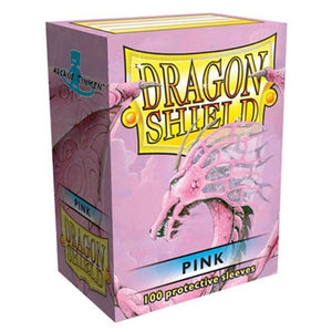 Dragon Shield Sleeve Pink 100