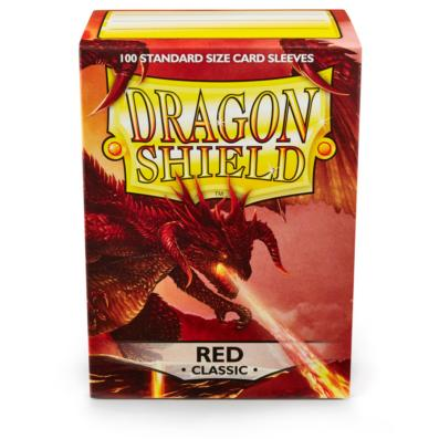 Dragon Shield Sleeve Red 100