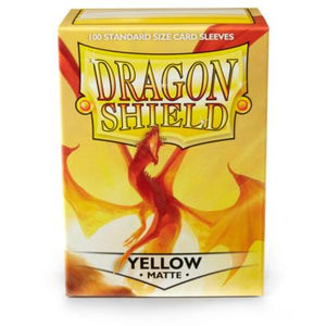 Dragon Shield Yellow Matte