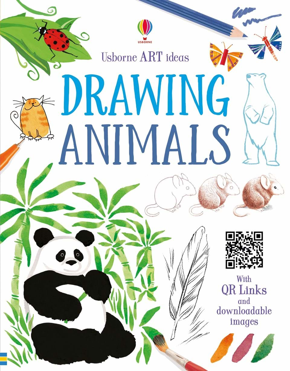 Usborne Art Ideas Drawing Animals Book