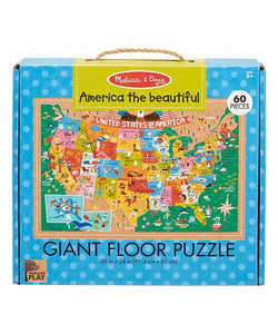 Giant Floor Puzzles America The Beautiful