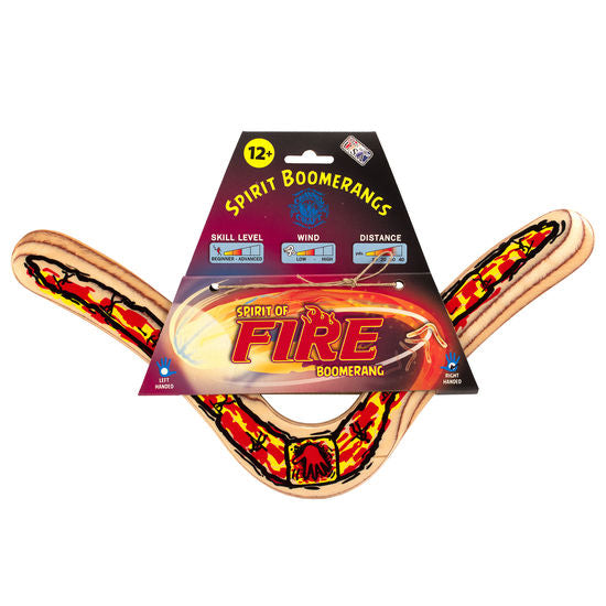 Spirit of the Fire Boomerang