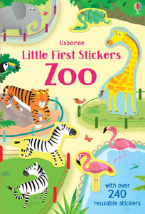 Little Stickers Zoo Book