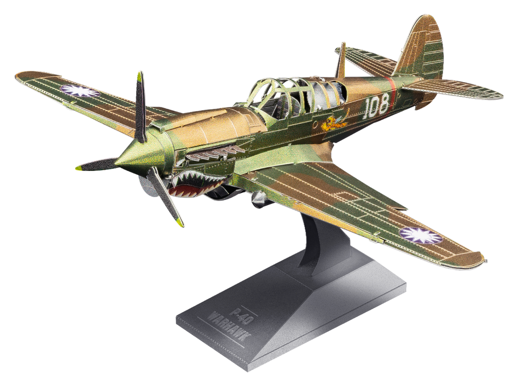 P-40 Warhawk Metal Earth