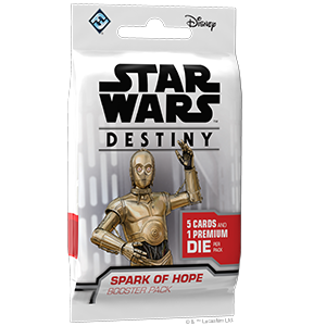 Star Wars Destiny Spark Of Hope Booster