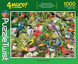Winged Wonders 1000Pc