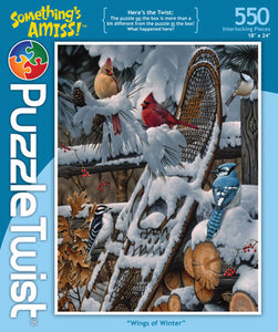 Wings of Winter 550Pc