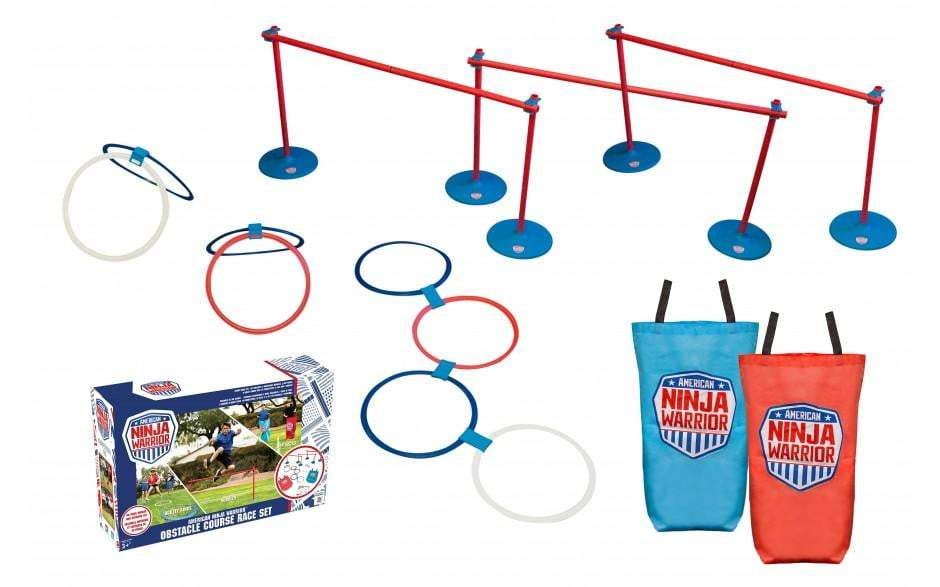 Ninja Warrior Obstacle Course Race set 40 pc