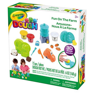 Cray Dough Farm Playset