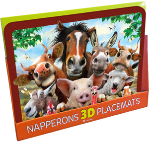 Placemats Farm and Animals