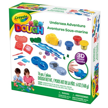 Cray Dough Ocean Playset - Medium