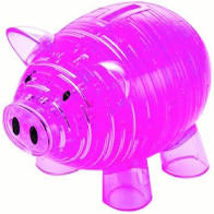 3D Crystal Puzzle Piggy Bank