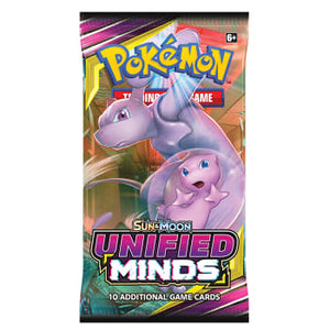 Pokemon Unified Minds Booster