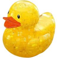 3D Crystal Puzzle Rubber Duck