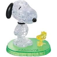 3D Crystal Puzzle Snoopy And Woodstock
