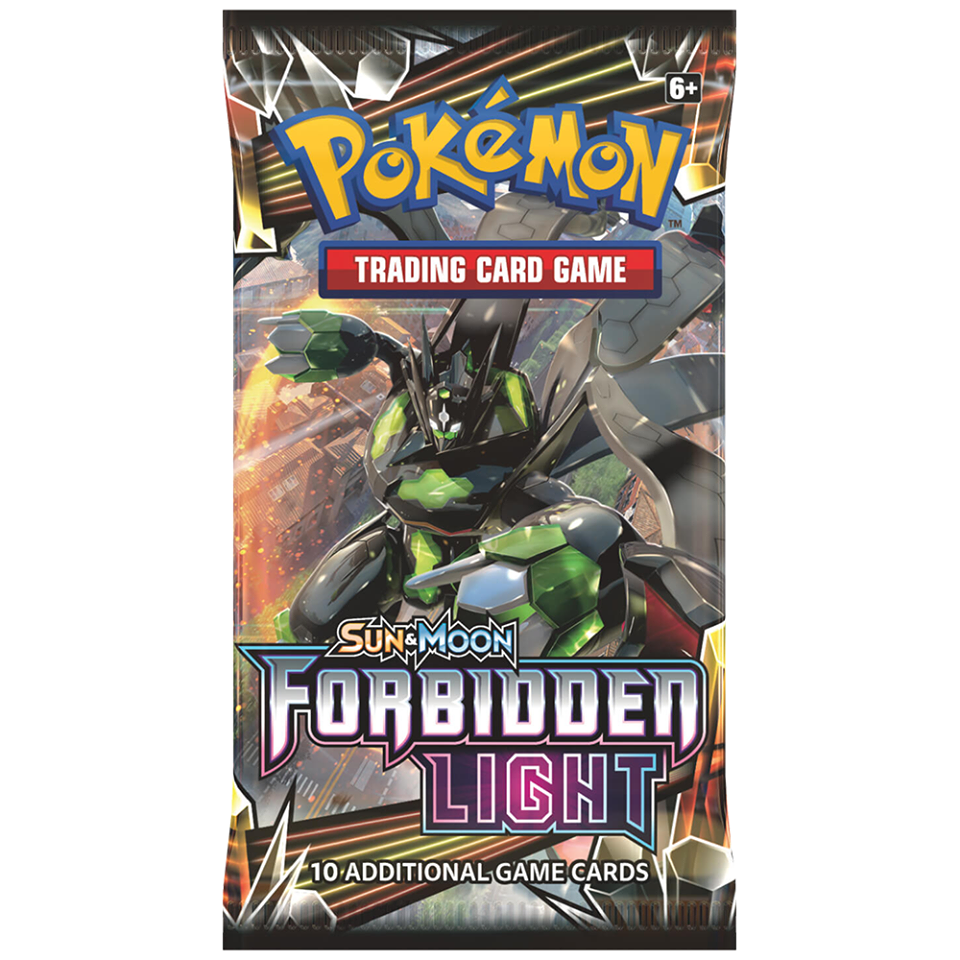 Pokemon Forbidden Light Booster