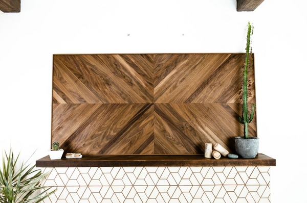 Walnut Wall Hanging