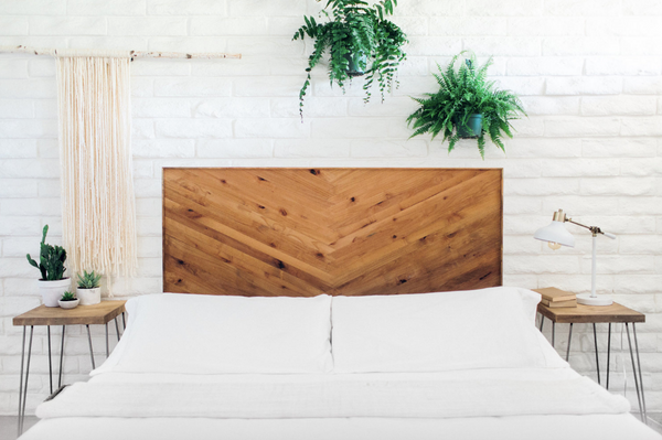 Natural Gradient Headboard