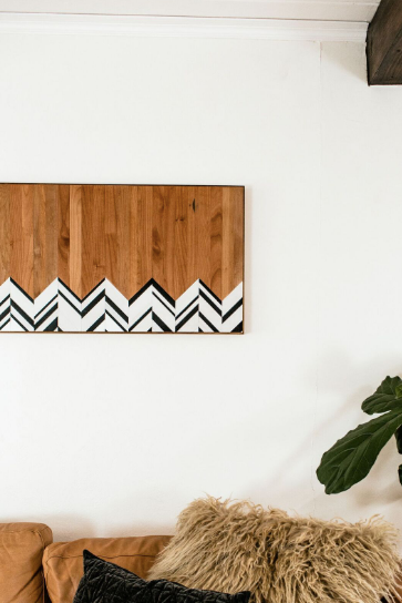 Herringbone Wall Hanging