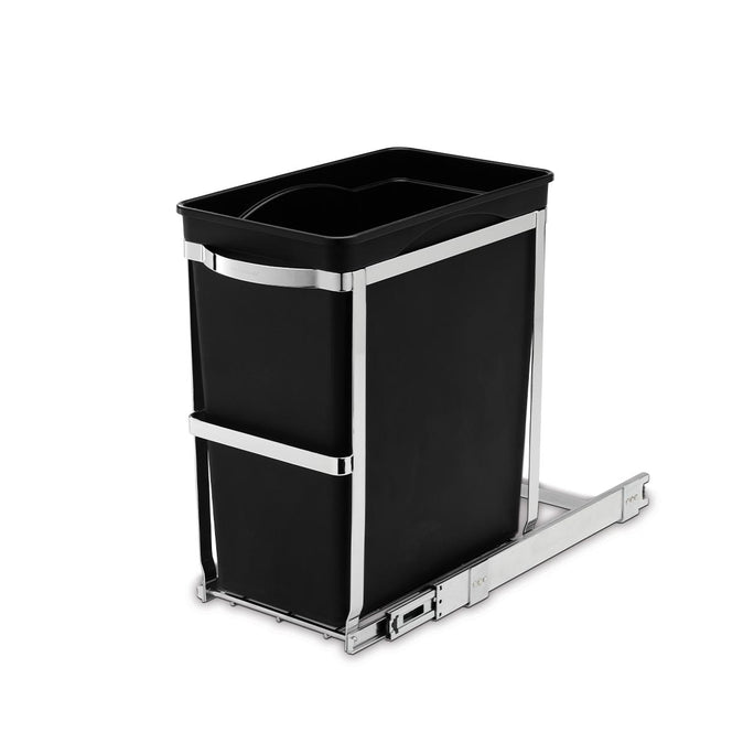 30L under counter pull-out bin - 3/4 view main image