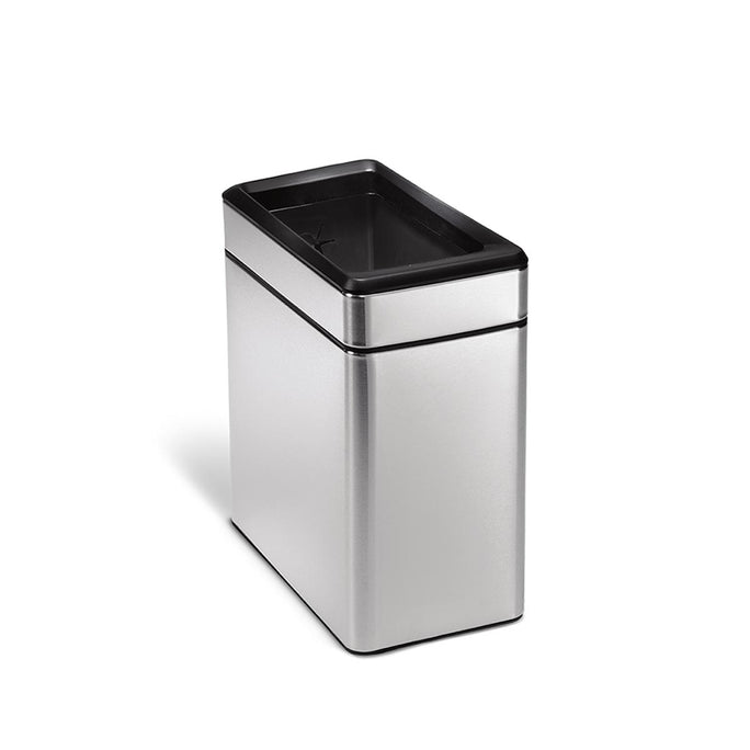 10L slim open can - brushed finish - main image