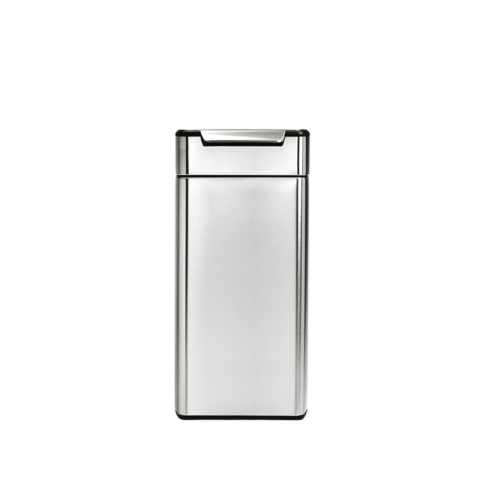 30 litre, rectangular touch-bar bin