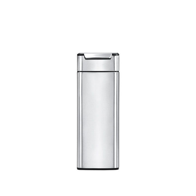 40 litre, slim touch-bar bin